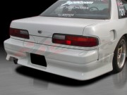 D1 Series Rear Bumper Cover For Nissan 240sx 1989-1993 Coupe Only