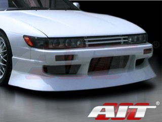 M4 Style Front Bumper Cover For 1989-1993 Nissan S13 Silvia