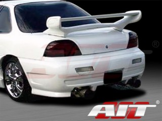Combat Style Rear Bumper Cover For Pontiac Grand AM 1992-1995