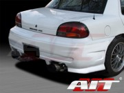 Combat Style Rear Bumper Cover For Pontiac Grand AM 1996-1998