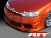 Combat Style Front Bumper Cover For Saturn ION 2003-2004 Sedan