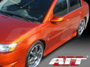 Combat Style Side Skirts For Saturn ION 2003-2004 Sedan