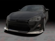 DL Series Carbon Fiber Front Bumper Lip For Scion FR-S 2013-2014