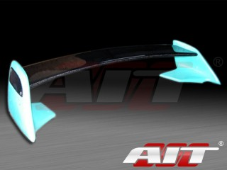 Universal TRD Style Rear Spoiler w/ Carbon Blade