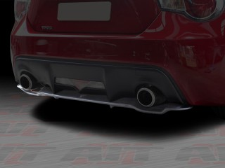 GT Style Rear Bumper Diffuser Add-On For Toyota 86 2012-2014|Scion FR-S 2013-2014|Subaru BRZ 2013-2014