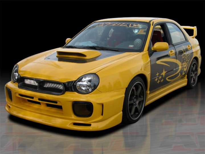 Charger Style Front Bumper Cover For Subaru Impreza 2002 2003