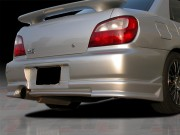 CW Style Rear Bumper Cover For Subaru Impreza 2002-2003