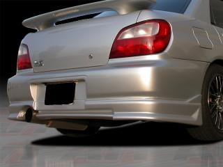 CW Style Rear Bumper Cover For Subaru Impreza 2002-2003