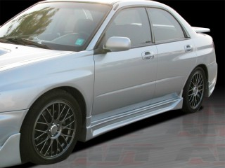 CW Style Side Skirts For Subaru Impreza 2002-2007