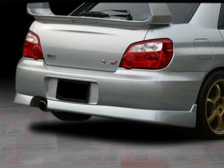 Charger Style Rear Bumper Cover For Subaru Impreza STi 2004-2007