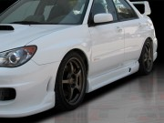 I-spec Style Side Skirts For Subaru Impreza 2002-2007