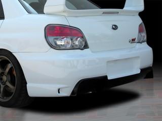 I-spec Style Rear Bumper Cover For Subaru Impreza STi 2005-2007