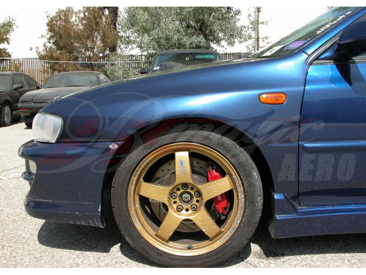 22B Series Wide Front Fenders For Subaru Impreza 1993-2001