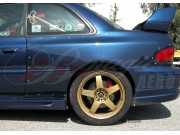 22B Series Wide Quarter Panels For Subaru Impreza 1993-2001
