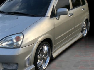 Drift Style Side Skirts For Suzuki Aerio SX 2001-2007