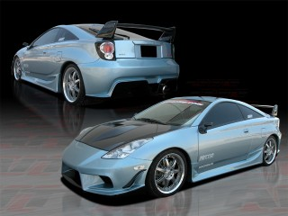 BMX Style Complete Body Kit For Toyota Celica 2000-2005