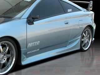 BMX Style Side Skirts For Toyota Celica 2000-2005