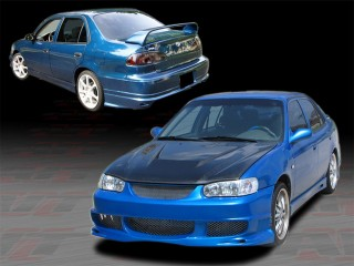 BMX Style Complete Body Kit For 2001-2002 Corolla