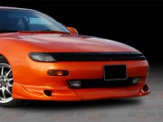 Zyclone Style front add-on lip For Toyota Celica 1990-1993