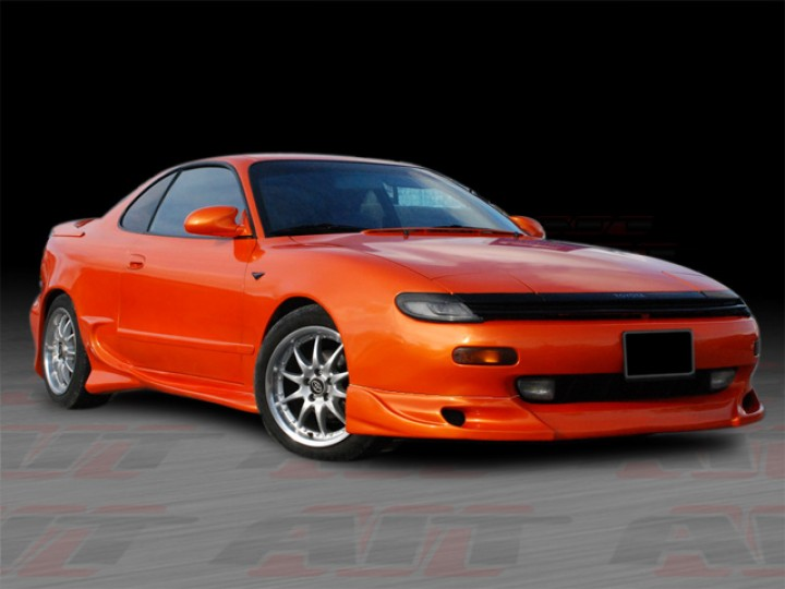 zyclone style front add on lip for toyota celica 1990 1993. Black Bedroom Furniture Sets. Home Design Ideas