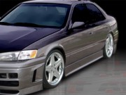 EVO3 Style Side Skirts For Toyota Camry 1997-2001