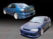 BMX Style Complete Body Kit For 1998-2000 Corolla