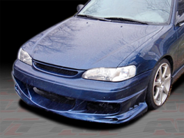 BMX Style Front Bumper Cover For Toyota Corolla 19982000