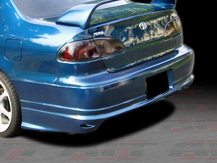 BMX Style Rear Bumper Cover For Toyota Corolla 19982002