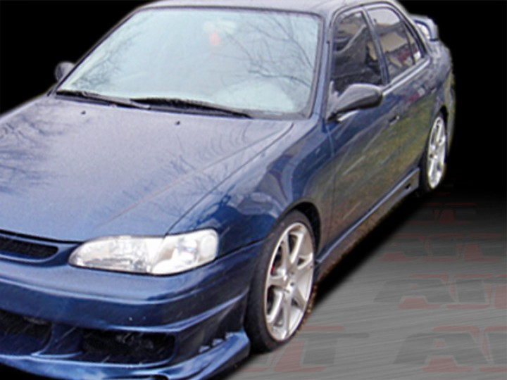 BMX Style Side Skirts For Toyota Corolla 19982002