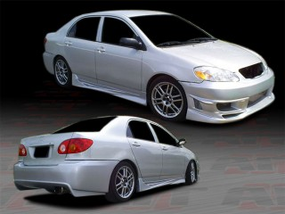 VIR Style Complete Bodykit For 2003-2007 Corolla