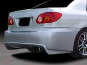 VIR Style Rear Bumper Cover For 2003-2007 Corolla