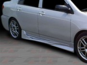 VIR Style Side Skirts For Toyota Corolla 2003-2007