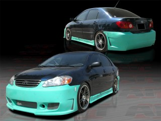 ZEN Style Complete Body Kit For 2003-2007 Corolla