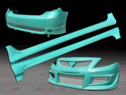 SKY Style Complete Bodykit For Toyota Corolla 2009-2010