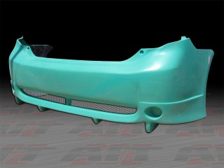 SKY Style Rear Bumper Cover For Toyota Corolla 2009-2010