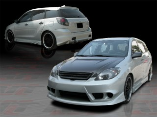 T-Max Style Complete Bodykit For Toyota Matrix 2003-2008