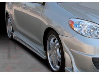 Vascious Series Side Skirts For Toyota Matrix 2003-2008