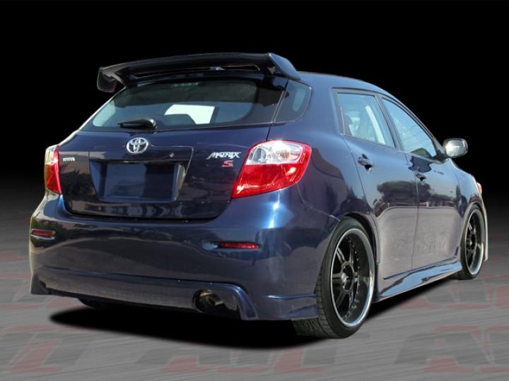 Diablo Series Rear Spoiler For Toyota Matrix 2009 2012