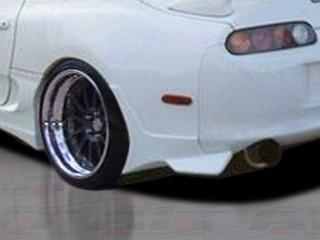 BMX Style rear skirt For Toyota Supra 1993-1998