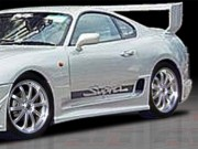 BZ Style Side Skirts For Toyota Supra 1993-1998