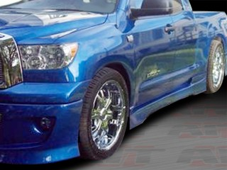 EXE Style Side Skirts For Toyota Tundra 2007-2013 Double Cab Only