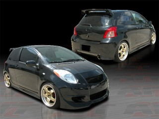DIABLO Series Complete Bodykit For Toyota Yaris 2007-2011 3DR/5DR