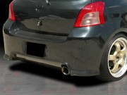 DIABLO Series Rear Bumper Cover For Toyota Yaris 2007-2011 3DR/5DR