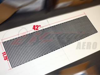 Premium abs plastic honeycomb mesh