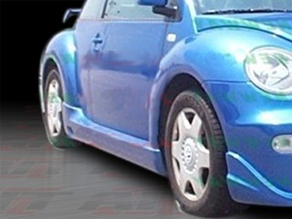 BCN-1 Style Side Skirts For Volkswagen New Beetle 1998-2004