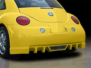 EVO Style Rear Bumper Cover For Volkswagen New Beetle 1998-2004