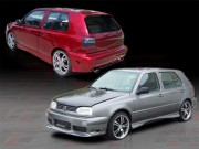 CORSA Style Complete Bodykit For Volkswagen Golf 1993-1998