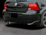 CORSA Style Rear Bumper Cover For Volkswagen Golf 1999-2004