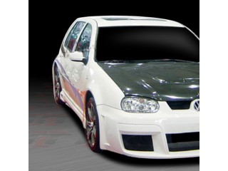 GTR Style Side Skirts For Volkswagen Golf 1999-2004