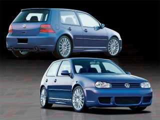 R32 Style Complete Bodykit For Volkswagen Golf 1999-2004